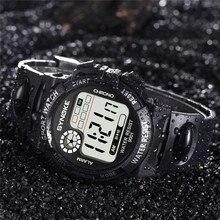 SYNOKE 30M Waterproof Watch LED Digital Luminous Wa