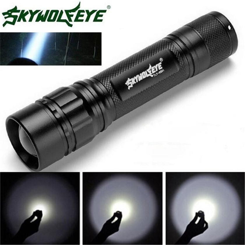 Skywolfeye Super 3000 Lumens 3 Modes CREE XML XPE LED 18650 Flashlight Torch Lamp Powerful Dropshipping 0206 sitemap 16 xml