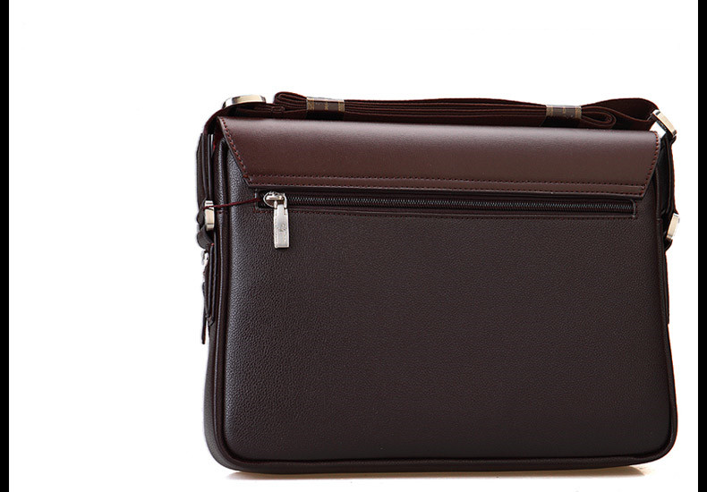 New Arrived luxury Brand men's messenger bag Vintage leather shoulder bag Handsome crossbody bag handbags Free Shipping 15