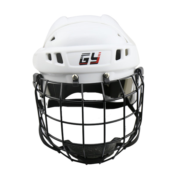 GY Sports Ice Hockey Helmet With Classical Face Shield Mask Combos magideal ice hockey helmet soft eva liner with cage for player hockey face shield xs s m l xl