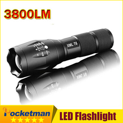 E17 xm-l t6 lanterna lanterna de 3800lm led luz zoomable vida à prova dwaterproof água lanterna tatica luz da bicicleta luz z82