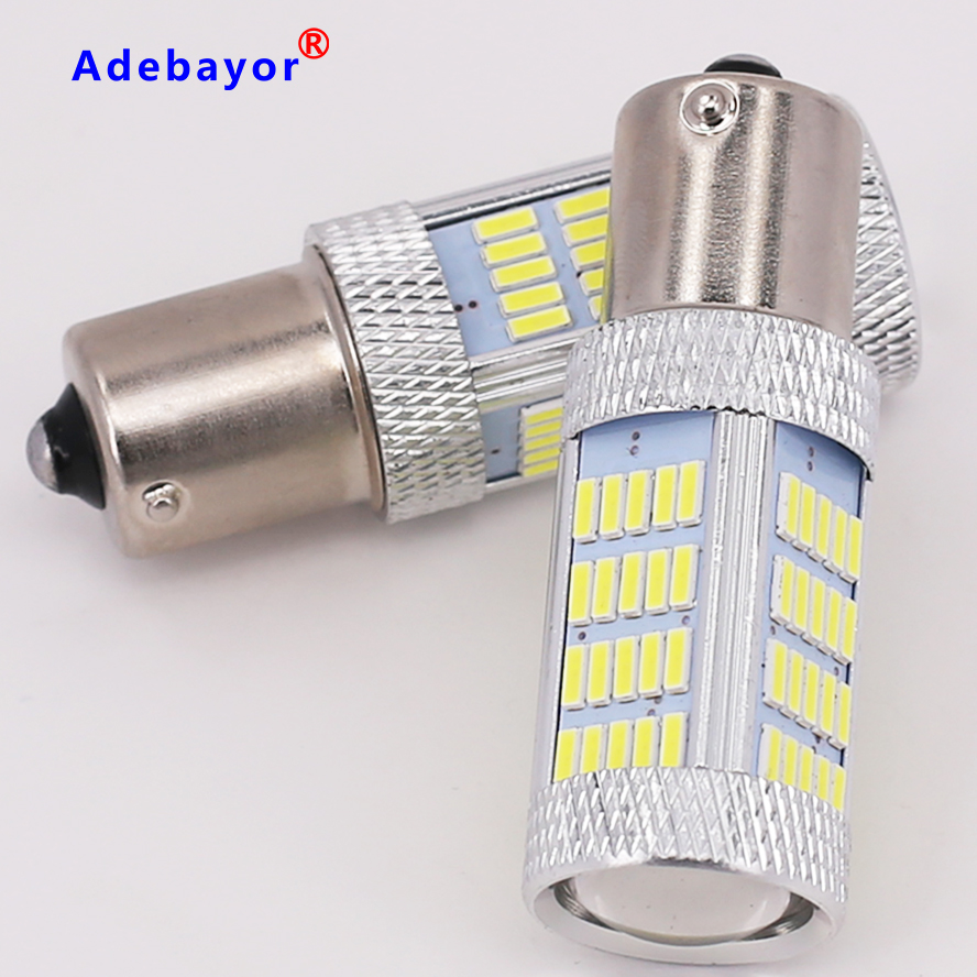 1pcs Brand New High power canbus 1156 92SMD imported 4014 led chips paking light reverse light