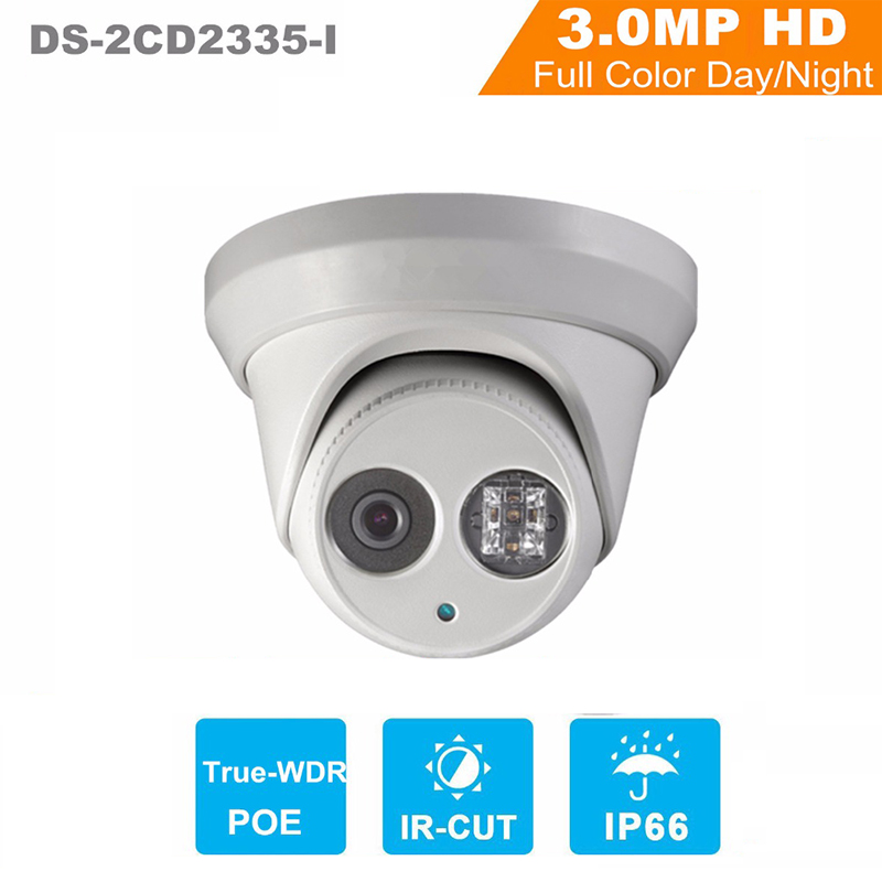Hikvision Full HD 1080P 3MP POE Camera DS-2CD2335-I Replace DS-2CD2332-I H.265 ONVIF Infrared Camera Waterproof CCTV IP Camera newest hik ds 2cd3345 i 1080p full hd 4mp multi language cctv camera poe ipc onvif ip camera replace ds 2cd2432wd i ds 2cd2345 i page 1