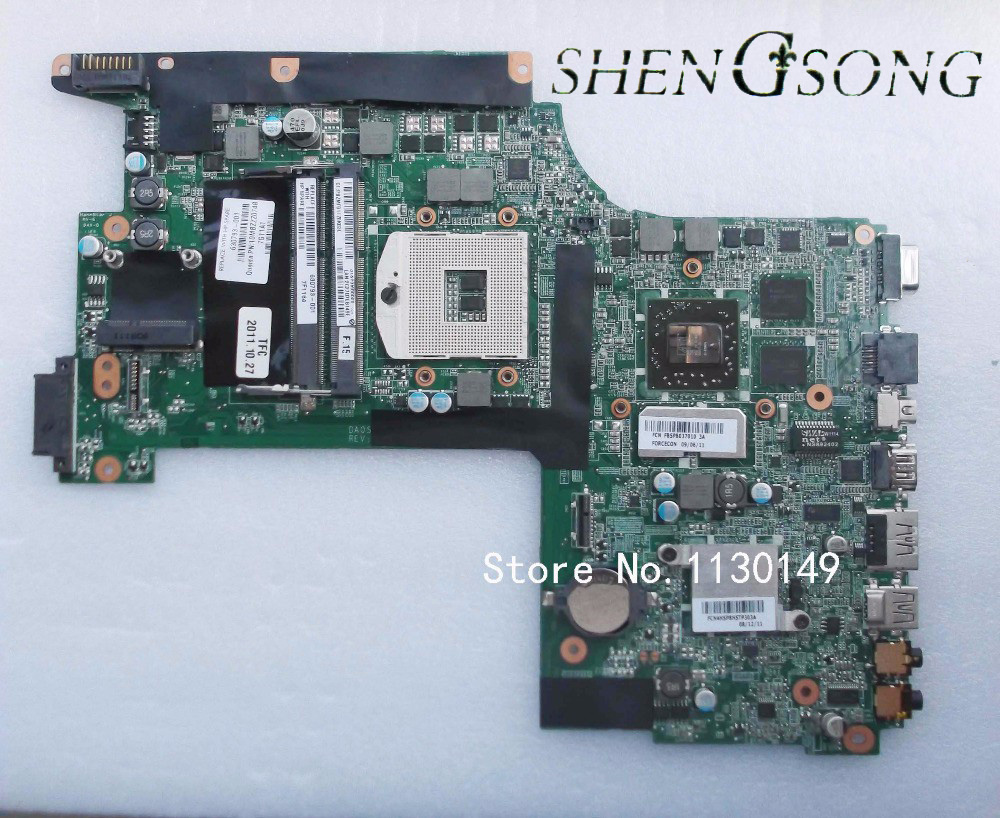 Free shipping for HP 630793-001 DA0SP9MB8D0 board for envy 17 laptop motherboard 100% tested well free shipping for acer tmp453m nbv6z11001 ba50 rev2 0 motherboard hm77 tested