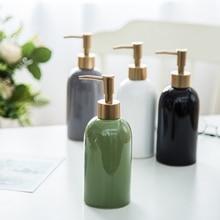 Soap Ceramics Pump Lotion Accessories Sink Liquid Soap Dispenser Spray Sanitizer Bathroom Foaming Travel Shampoo Dispenser LY355