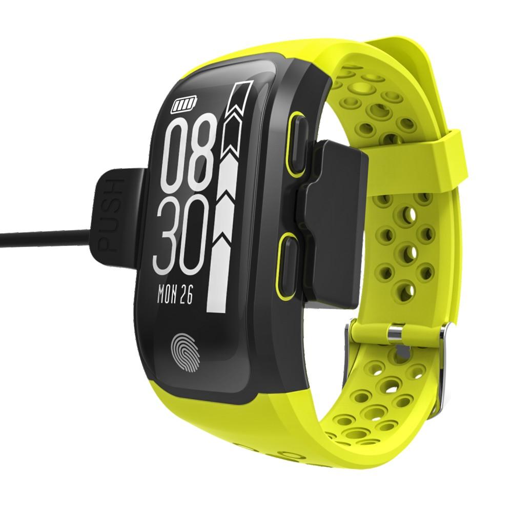 LEMDIOE Heart Rate Smart Wristband GPS Track Record Smart Band 2 Sleep Pedometer Bracelet Fitness Tracker Smart Watch Relogio 18