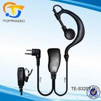 Topradio TC500 Earpiece For Hytera TC-500 TC-510 TC-508 TC-518 TC-600 TC-710 TC-780 TC-610 2 Pin 2 Pin Headset Earpiece Earphone