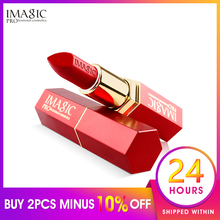 IMAGIC Christmas New matte best lasting lipstick, nude the most lasting lipstick 12 color cream lipstick цена 2017