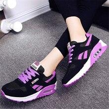 4f761f9ce جديد 2018 الساخن بيع أحذية رياضية امرأة وسادة هوائية احذية الجري للنساء في  الهواء الطلق الصيف