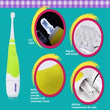 High Quality Seago SG-902 Professional children's baby sonic smart LED electric toothbrush for 0-4 years old baby