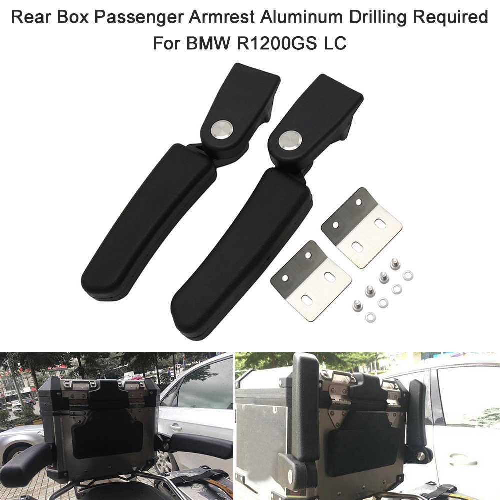 Rear Box Passenger Armrest Aluminum Drilling Required For BMW R1200GS LC Adventure G310 GS F800GS ADV Tail Box MT-09 Tracer