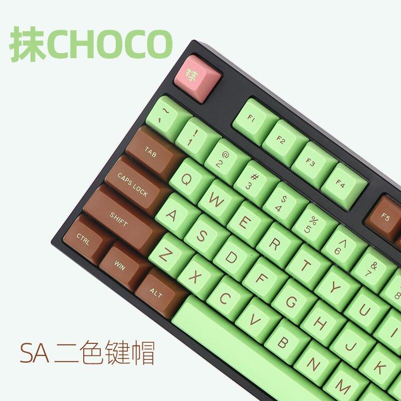 Keycaps-Set Mechanical Keyboard Sa-Profile MAXKEY Cherry Wired USB for Mchoco