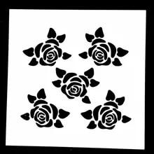 Yuksek Kaliteli Toptan Satis Small Flower Stencils Cindeki Small