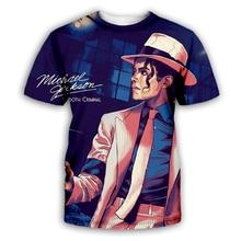 PLstar Cosmos Fashion Clothing Men/Women T-shirt 3d Print Michael Jackson T-Shirt Unisex Plus Size Tee Shirts Summer drop shippi water drop 3d print t shirt