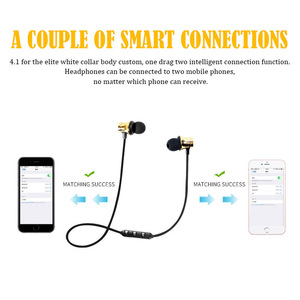 Image 2 - ROVTOP Magnetic Music Bluetooth Earphone XT11 Sport Running Wireless Bluetooth Headset With Mic For iPhone 8 X 7 Xiaomi Huawei