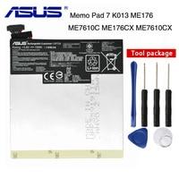 Original ASUS Bateria para ASUS para ASUS pad MeMo 7 ME7610C C11P1326 ME7610CX ME176C ME176CX K013 ME176 3910 MAH