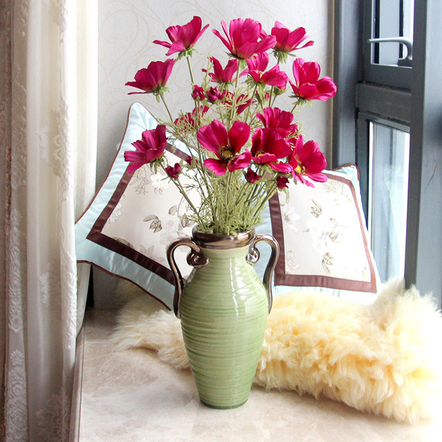 Know The Root Fake Flowers Artificial Flowers Silk Flower Decoration Flower  Field Cosmos Flower Table Flower