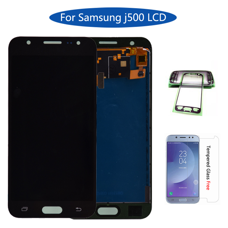 AAA For Samsung GALAXY J5 J500 J500F J500FN J500M J500H 2015 LCD Display With Touch Screen Digitizer Assembly Free shippingAAA For Samsung GALAXY J5 J500 J500F J500FN J500M J500H 2015 LCD Display With Touch Screen Digitizer Assembly Free shipping