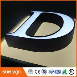 Custom 3d letters led verlichte letters 3d doosletters