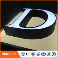 Custom 3d Letters Led Illuminated Letters 3d Channel Letters