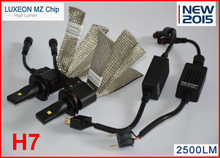 1 conjunto de 40 W 5000LM H7 LEVOU Kit Farol Do Carro Lâmpada de Condução luz de nevoeiro Lâmpadas 6500 K Branco
