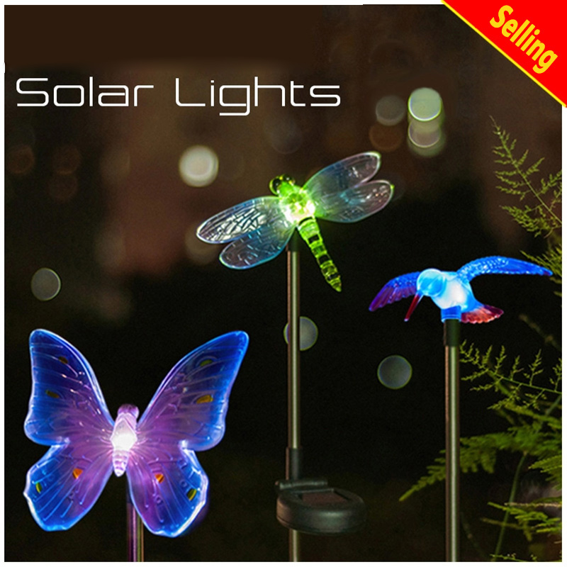 ФОТО LED solar lights Home interior outdoor lighting holiday lights garden light IP65 waterproof for garden decoration modelling lamp