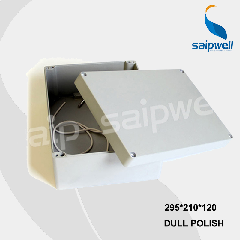 295*210*120mm SP-FA69 Industrial Waterproof Aluminium Box / Enclosures with CE,ROHS 222 145 55mm sp fa5 industrial waterproof aluminium box electrical aluminium enclosure with ce rohs