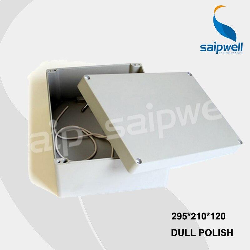 Boîte/boîtiers en Aluminium imperméables industriels de SP-FA69 de 295*210*120mm avec du CE, ROHS