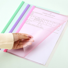 Deli File Folder A4 Office Document Bag Meeting Report Cover Spine Bar Student Study Paper Filing Product