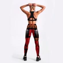 Women Fashion Fintess Legging Wine red Digital Print Women's leggings Super HERO Deadpool Leggins Printed leggings
