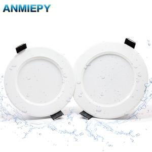 Image 1 - 10 adet kısılabilir su geçirmez led Downlight AC220V 230V 5W 7W 9W 12W 15W 18W LED kapalı lamba gömme LED Spot ışık banyo