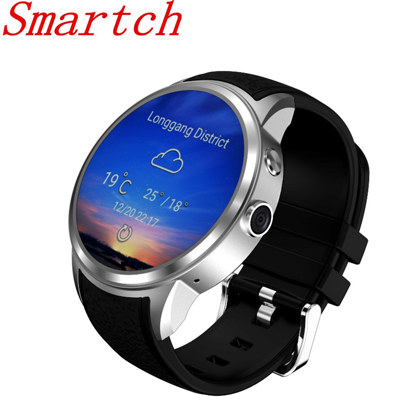 Top 1 X200 Smart Watch Android 5.1 OS 1.39 inch IPS OLED Screen 1GB+16GB Support SIM Card GPS WiFi Smartwatch for Androi