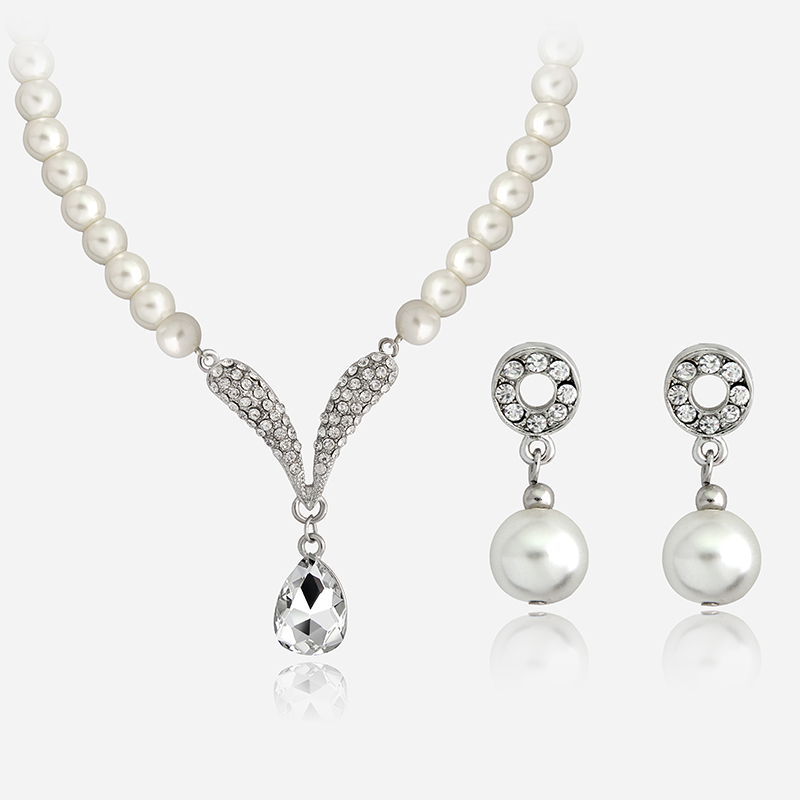 Bridal Jewelry Sets Cream Fresh...