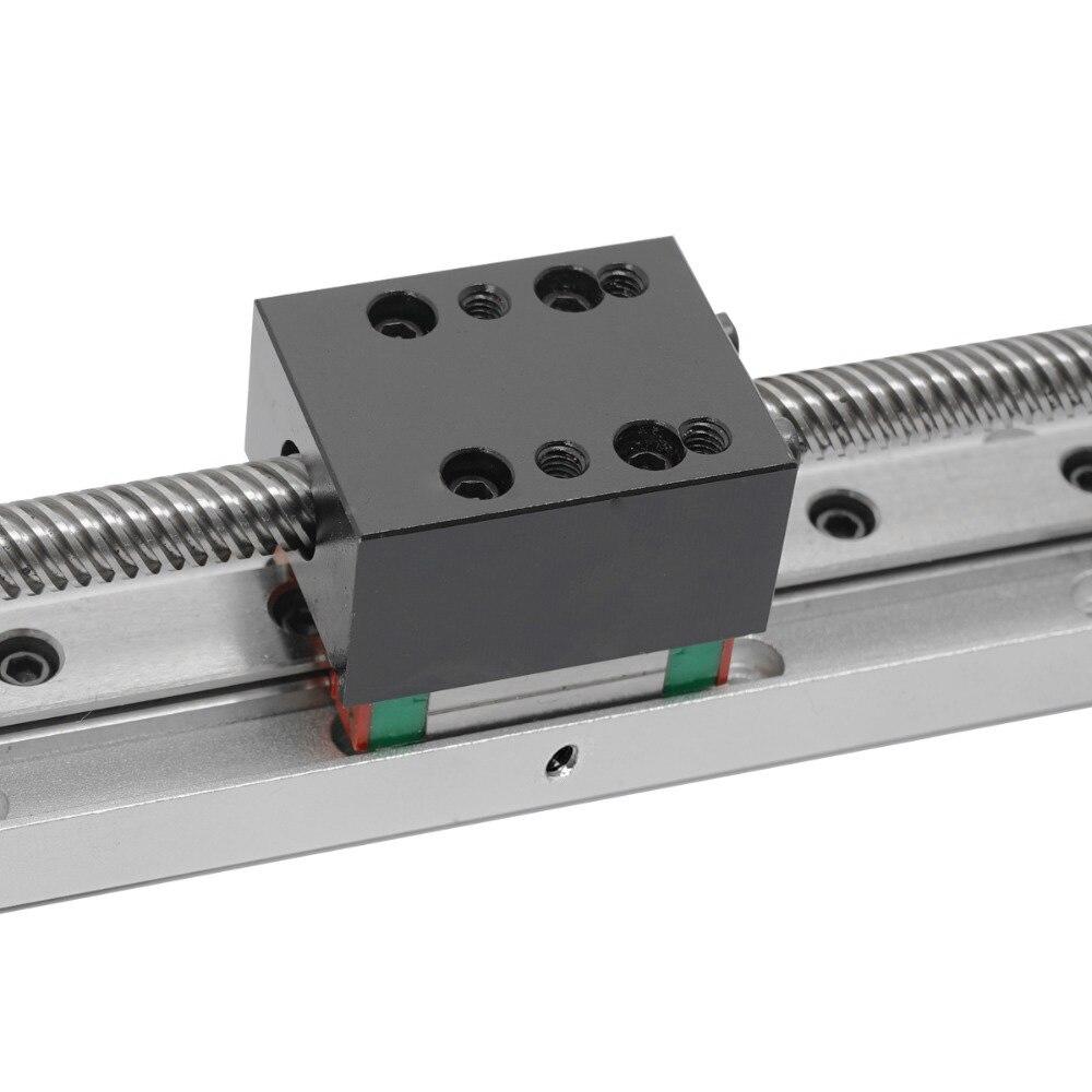 Mini Guide linéaire glissière Rail CNC petit actionneur de scène vis plomb système de Table de mouvement Nema 11 Robot partie Motorzied moteur pas à pas - 5