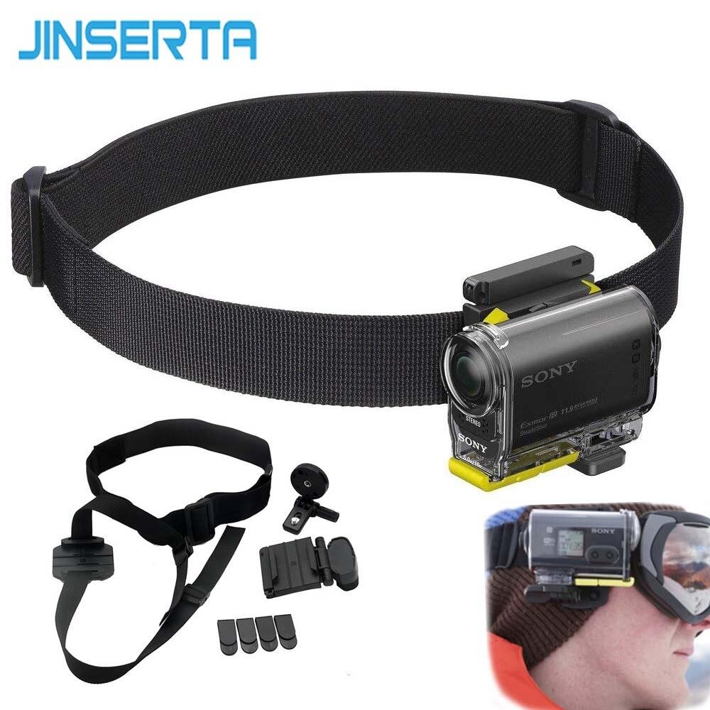 JINSERTA Universal cabeza Kit de montaje para Sony Cámara de Acción HDR-AS200V HDR-AS300 HDR-AS30V HDR-AS100V BLT-UHM1
