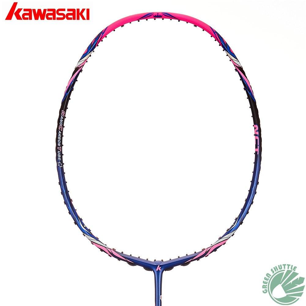 2020 Genuine Kawasaki Badminton Racket T-joinpower Strong Torsion King K9 K8 Spider 9900II 7200II  Enhanced Blade Frame Raquete