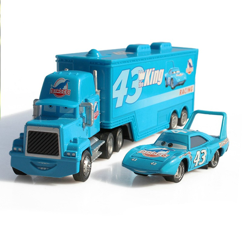 hot-sale-2pcs-cartoon-model-Truck-car-Toys-for-children-Mack-1-55-Diecast-Metal-Loose (1)