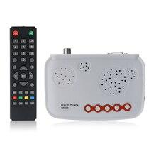 2016 новые Декодер каналов кабельного телевидения цифровой Портативный HD ТВ ЖК-дисплей ТВ коробка/HD аналоговый ТВ-тюнера/crt Мониторы цифровой компьютер ТВ приемник Программа