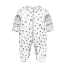 Детские пижамы; детские комбинезоны; Одежда для новорожденных; roupa infantil; хлопковый костюм с длинными рукавами; Осенние Комбинезоны для маленьких мальчиков и девочек