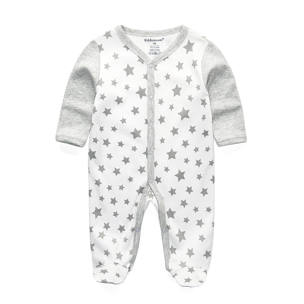 2018 New Children pajamas baby rompers newborn baby ...