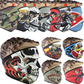 2016 Outdoor Sport ski mask Snowboard Motorcycle Winter Warmer Sport Full Face Mask Pirates 3D Printed Triangular Skiing CS GO