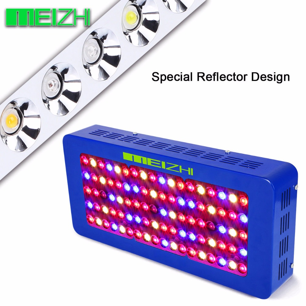 MEIZHI Reflector LED 450W Grow light full spectrum indoor Hydroponics plant growing light for gaden Greenhouse in Growing Lamps from Lights Lighting