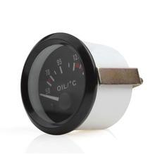 Audew 2 Inch Universal Car Oil Temperature Temp Gauge Auto Pressure Gauges 50-150 with LED Light