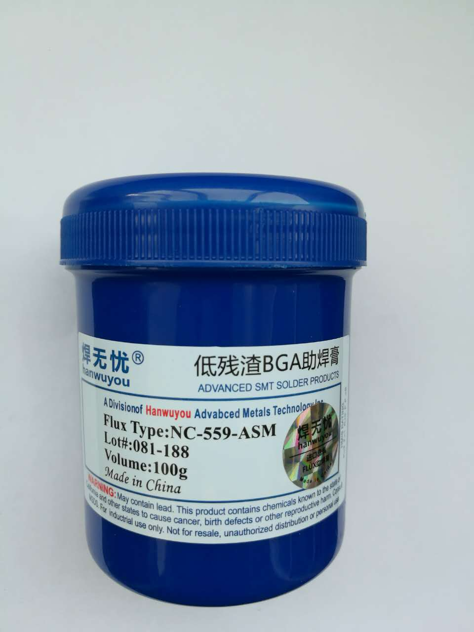 Paste NC-559-ASM 100g Leaded Free Soldering Flux Welding Paste For SMT BGA Reballing Soldering Welding Repair No Clean Flux