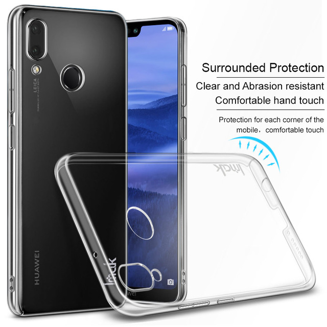 the latest a75eb 7fd2f US $4.32 |Huawei P20 Case Huawei P20 Pro Case IMAK Clear Crystal PC Plastic  Hard Back Cover Case For Huawei P20 Lite / Huawei Nova 3E-in Fitted Cases  ...