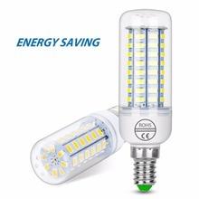 4PCS E27 LED Lamp E14 Bulb SMD5730 220V Corn 24 36 48 56 69 72LEDS Lampada Lights For home Energy saving Lamps