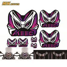 MOTORCYCLE For KYMCO AK550 2017-2018 HELMET STICKER FRIAING DECALS Windshield LOGO