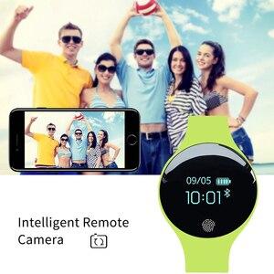 Image 5 - SANDA ยี่ห้อผู้หญิงกีฬานาฬิกากันน้ำแคลอรี่ Pedometer สร้อยข้อมือ Luxury Sleep Monitor GPS สมาร์ทนาฬิกาข้อมือสำหรับ Android IOS