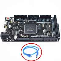 A Causa di R3-CH340/Due R3 Board-ATMEGA16U2/CH340G ATSAM3X8E Braccio Scheda di Controllo Principale con 50 Centimetri Cavo Usb per Arduino