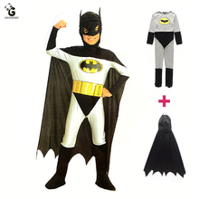 Bat Superhero Costumes Kids Halloween Christmas Costumes For Kids Child Fancy Dress Anime Costume Boys Cosplay Bat Cloak